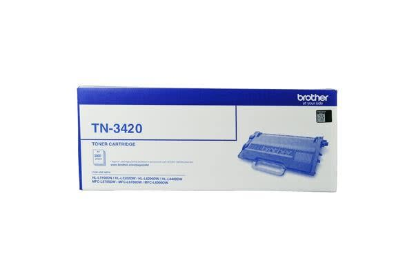 Brother Mono Laser Toner High YIED  L5100DN/5200DW/6200DW