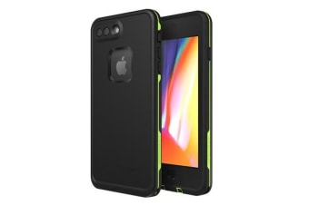 Lifeproof iPhone 8 Plus/ 7 Plus Fre Case Black Lime