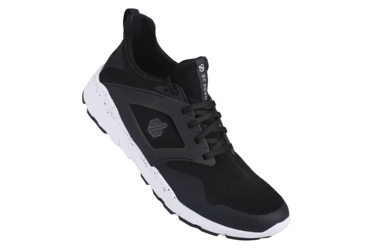 Dare 2B Mens Rebo Trainers (Black/White) (8 UK)
