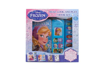 Disney Frozen - Read, Look And Play 3-Book Set