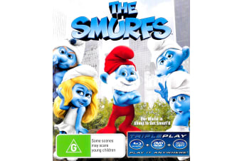 The Smurfs - Rare- Aus Stock Blu-Ray PREOWNED: DISC LIKE NEW