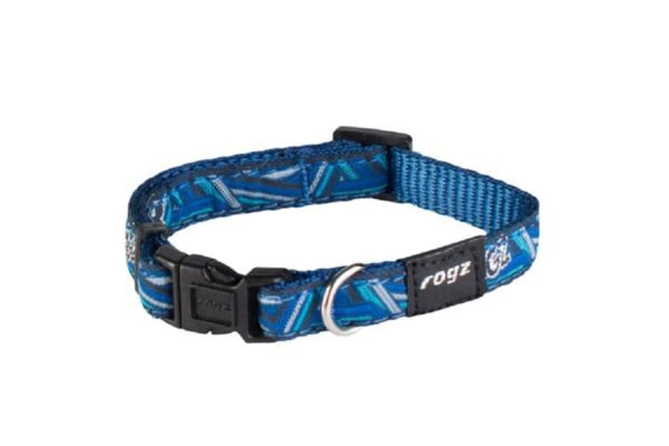 Rogz Fancy Collar Navy Zen - XL