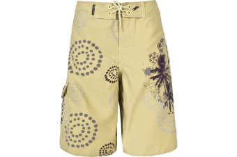 Trespass Mens Hang Five Swimming Shorts/Trunks (Lemongrass) (XS)