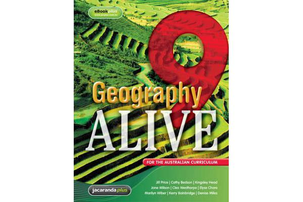 Geography Alive 9 for the Australian Curriculum & eBookPLUS