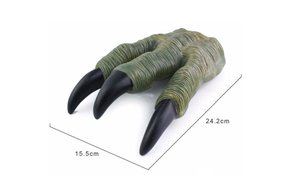 Dinosaur Mask and Claws in Green