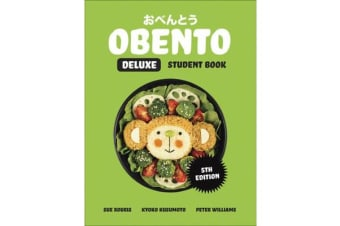 Obento Deluxe Student Book with 1 Access Code for 26 Months