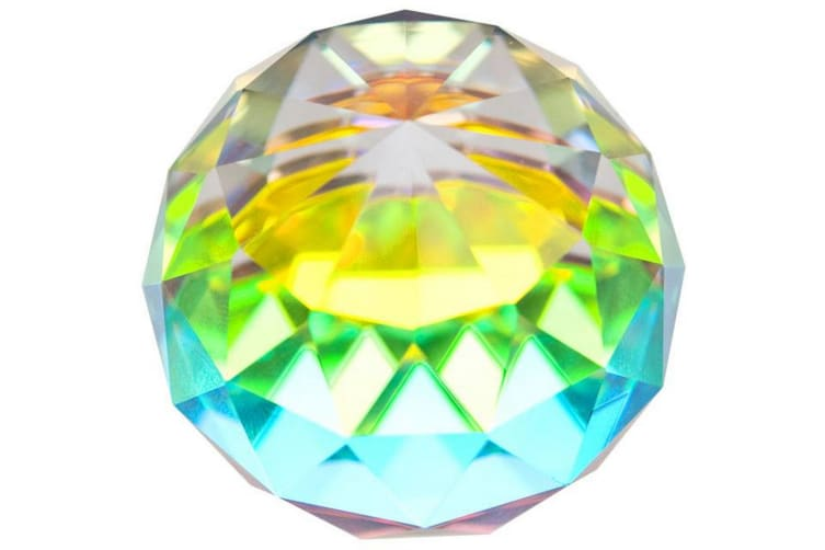 Something Different Faceted Rainbow Ball (Multicolour) (40mm)