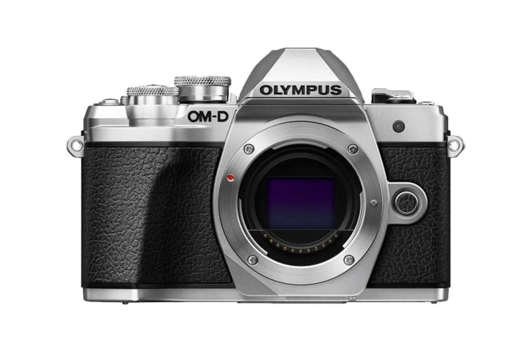 Olympus OM-D E-M10 Mark III Mirrorless Camera - Body Only (Silver)