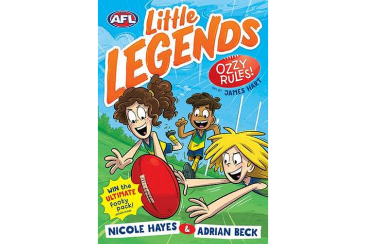 Ozzy Rules! - AFL Little Legends #1