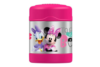 Thermos Funtainer Stainless Steel 290ml Food Container - Minnie Mouse