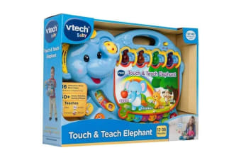 VTech Touch and Teach Elephant