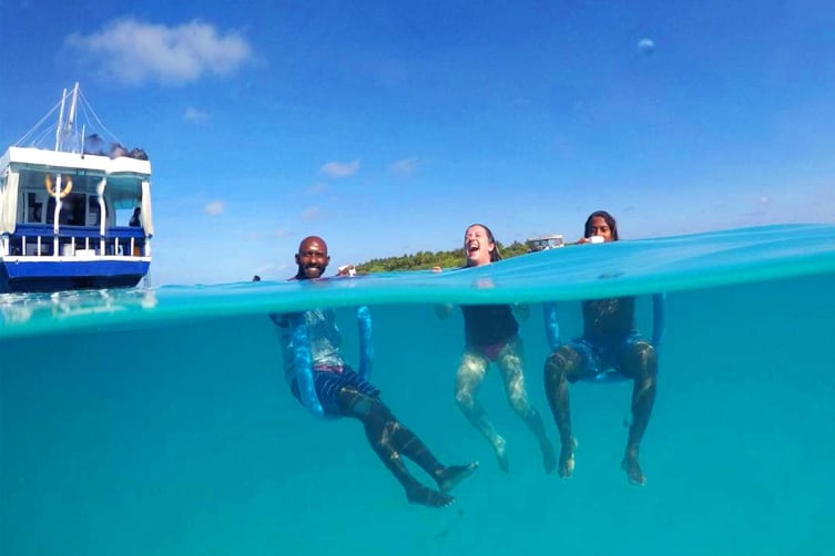 MALDIVES: 7 Day Small Group Dhoni Cruise Package for One (Sharing with Same Sex)