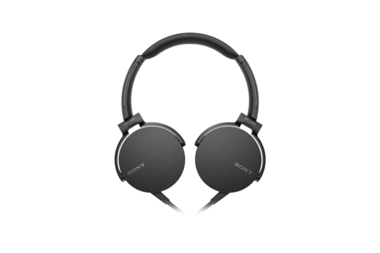 Sony Extra Bass Headphones - Black (MDRXB550APB)