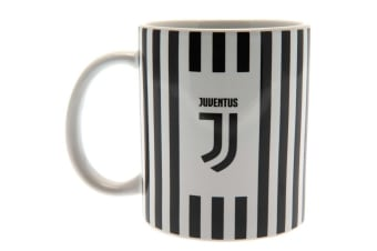 Juventus FC Mug (Black/White) (One Size)