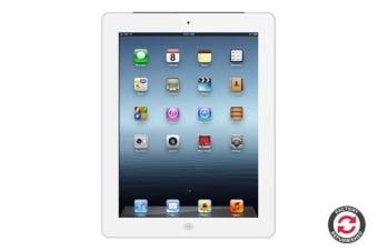 Apple iPad 4 Refurbished (16GB, Cellular, White) - B Grade