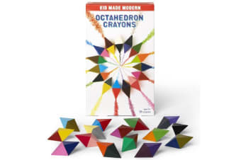 Kid Made Modern Octahedron Crayons