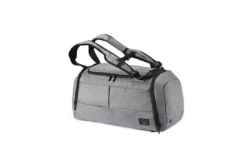 Sports Gym Bags Fitness Travel Handbag Shoulder Backpack 1789Grey 32 Inches