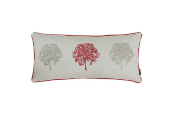 Riva Home Oakdale Tree Design Cushion Cover (Red)