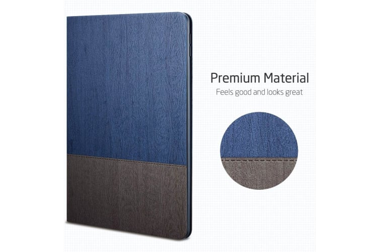 For iPad Mini 5 (2019) Smart Case  Folio Cover with Built-in Kickstand  Blue