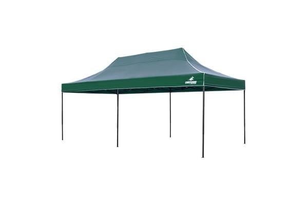 3x6m Gazebo Frame + Roof - GREEN