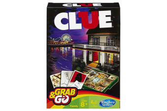 Grab and Go Clue Travel Game