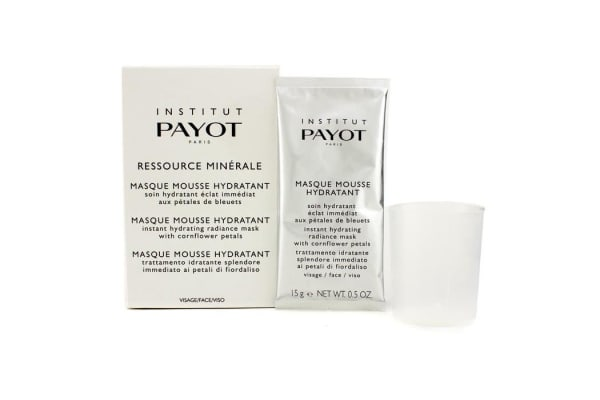 Payot Hydra Masque Coffret: Masque Mousse Hydratant (Face) 15g + Measuring Cup (5x15g/0.5oz)