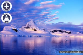 ANTARCTICA: 19 Day Antarctica Cruise Package Including Flights for Two