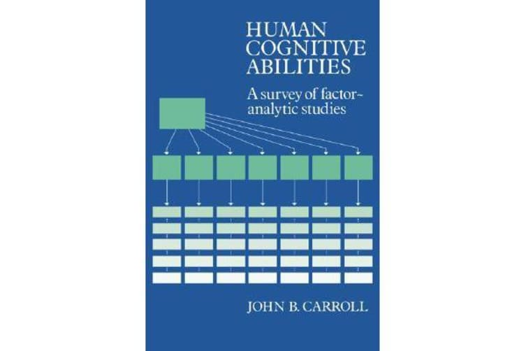 Human Cognitive Abilities - A Survey of Factor-Analytic Studies