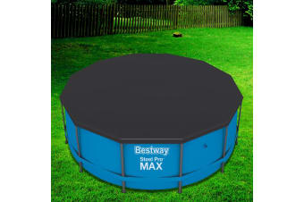 Bestway Pool Cover For Above Ground Swimming Pools LeafStop 3.7m