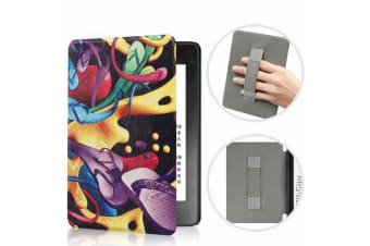 Leather Case Ultra Slim Magnetic Cover For Amazon All-new Kindle 10th Gen 2019-NO15 Pattern
