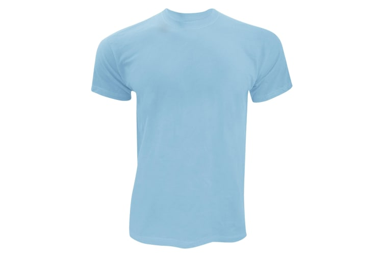 Screen Stars Fruit Of The Loom Mens Original Short Sleeve T-Shirt (Sky Blue) (XL)