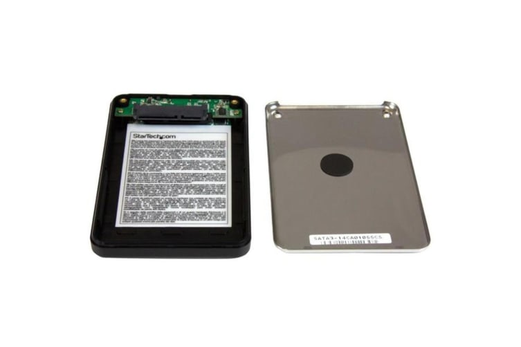 StarTech.com Encrypted Drive Enclosure for 2.5in SATA SSDs / HDDs - USB 3.0