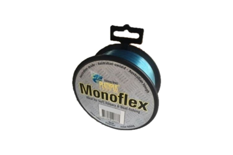 100m Spool of 125lb Blue Platypus Monoflex Mono Fishing Line - Australian Made Line
