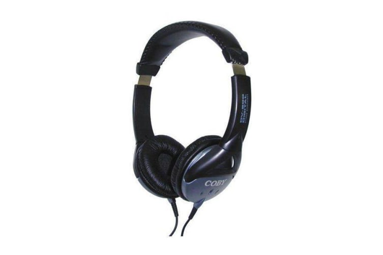Coby High Quality Headphone High performance 40mm drivers with super bass professional styling