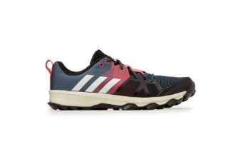 Adidas Kid's Kanadia 8.1 Shoes (Raw steel/off white/real pink, Size 6 US)