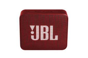 JBL GO 2 Portable Bluetooth Speaker (Ruby Red)