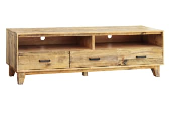 Woodstyle TV Unit with 2 Drawers
