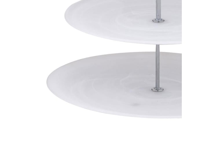 Anya Patara 3 Tier Serving Plate Matte White