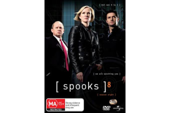 Spooks The Complete Season 8 DVD Region 4