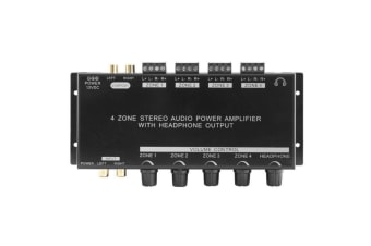 Pro2 PRO1300 4 Zone Stereo Audio Power Amplifier With Headphone Output