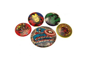Marvel Comics Button Badge Set (Multi-colour)