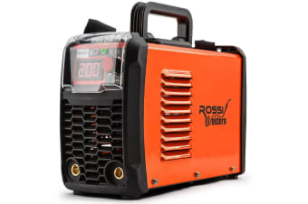 NEW ROSSI MMA 200Amp Welder DC iGBT Inverter ARC Welding Machine Stick Portable