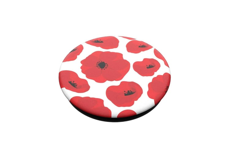 PopSockets Scandi Poppies Swappable Top for Pop Socket Base Grip/Stand PopGrip