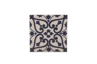 Maxwell & Williams Medina Ceramic Square Tile Coaster Maarif 9cm