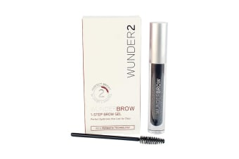 Wunder2 Wunderbrow 1-Step Brow Gel - Jet Black
