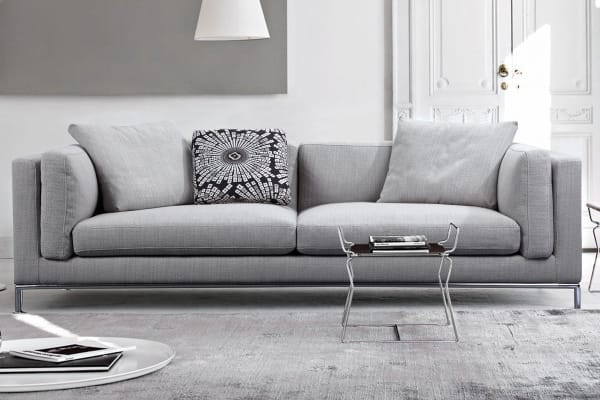 Carlton 3 Seater Sofa (Grey)