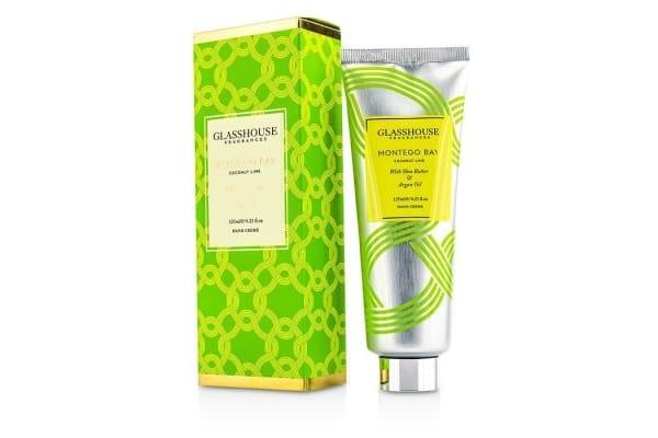Glasshouse Hand Cream - Montego Bay (Coconut Lime) 125ml/4.23oz