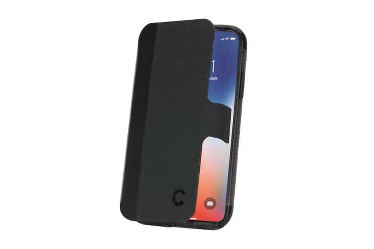 Cygnett TekWallet Premium Protective Wallet Case for iPhone Xs Max - Black (CY2599CPTEK)