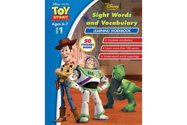 Image of Disney Toy Story - Sight Words and Vocabulary Learning Workbook Level 1