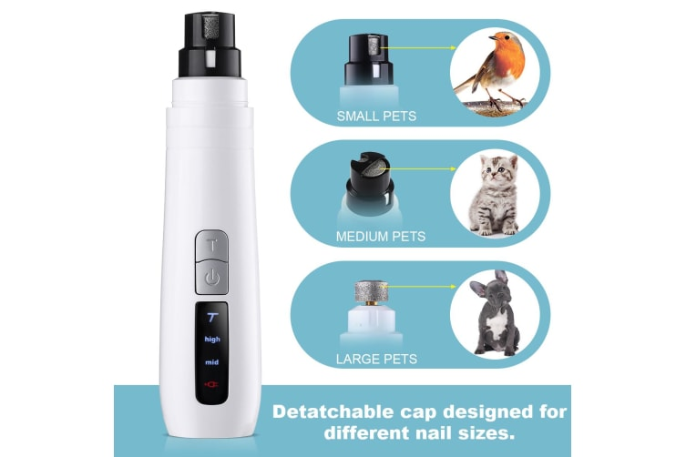 Electric Pet Nail Grooming Tool for Dog Cat
